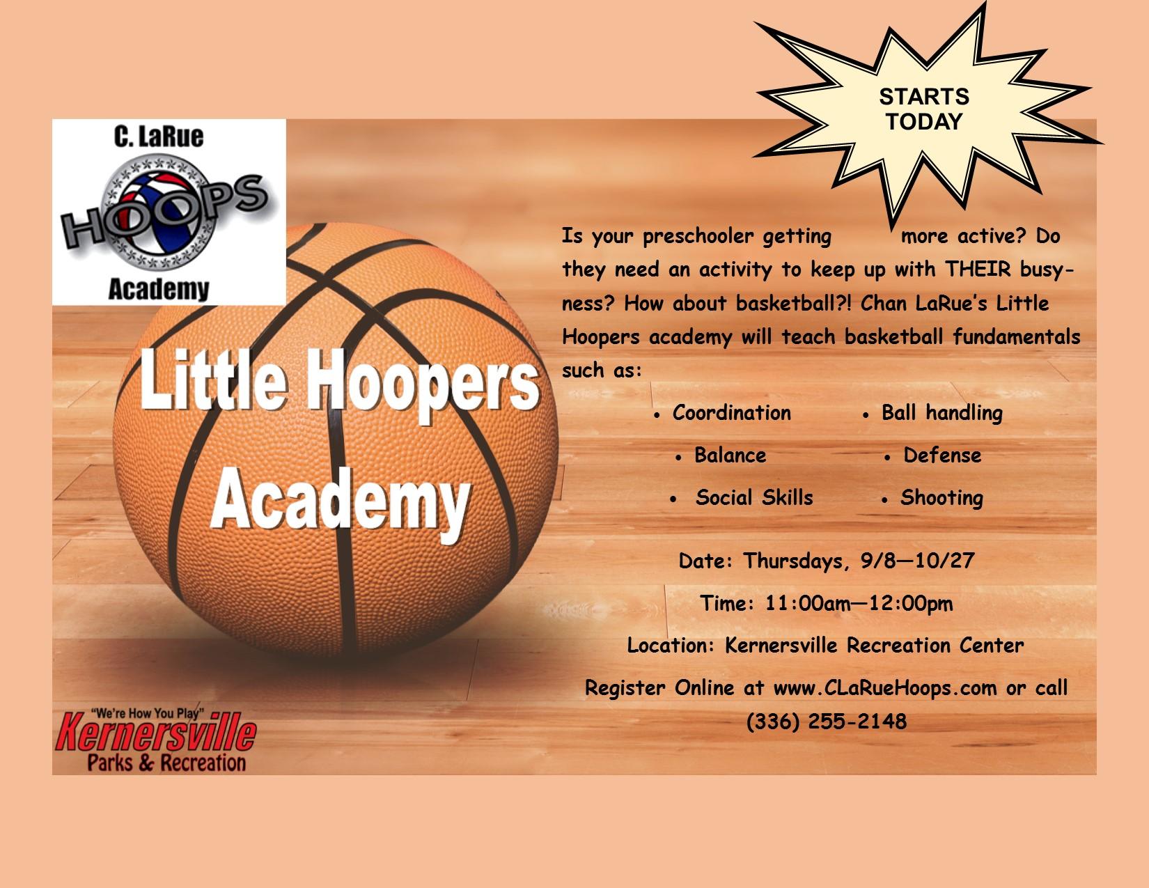 Chan LaRue's Little Hooper Academy