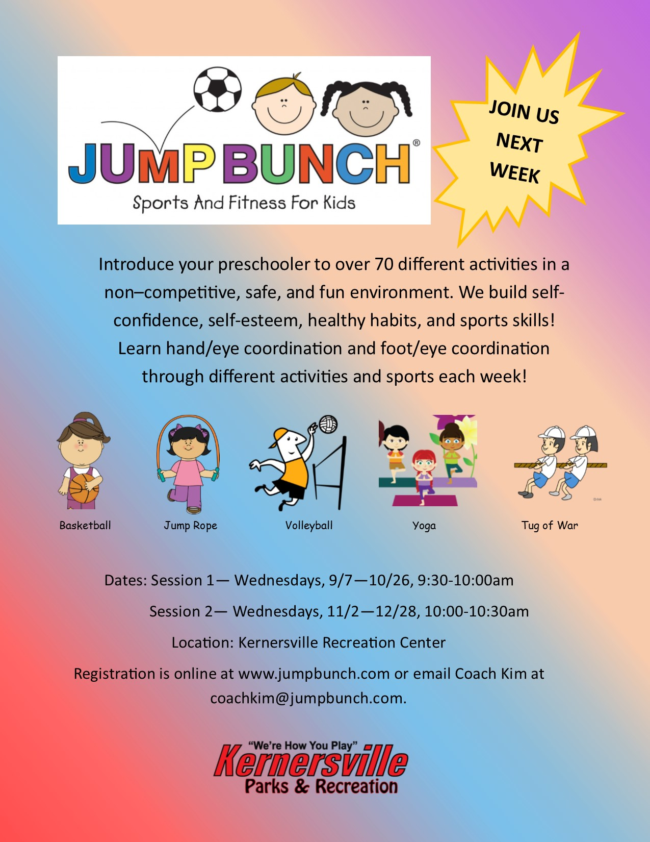 Jump Bunch Sport & Fitness for Kids